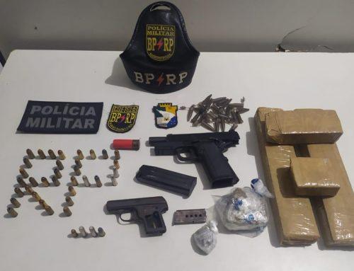 Polícia Militar prende motorista de aplicativo e mulher por porte ilegal de arma de fogo em Aracaju