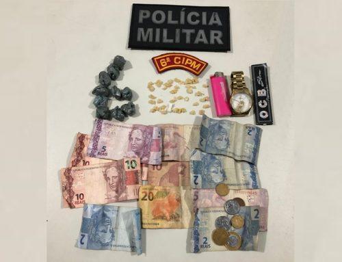 Polícia Militar prendeu mulher por suspeita de tráfico ilícito de drogas em Aracaju