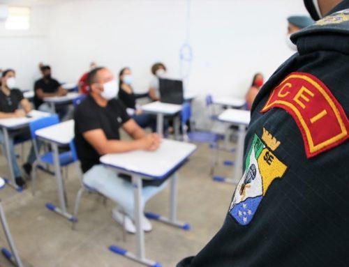 Convocados em concurso público para Polícia Militar conhecem o Centro de Ensino da Corporação