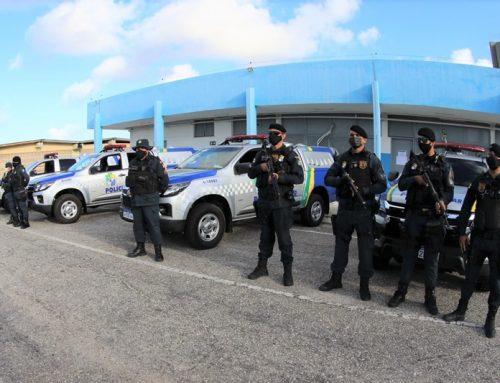 Polícia Militar promove a entrega de quatro novas viaturas para o policiamento da capital e do interior do estado
