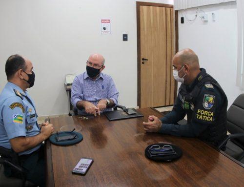 Comando da PMSE se reúne com o diretor-presidente da Cehop para tratar da reforma e restauração das instalações do QCG