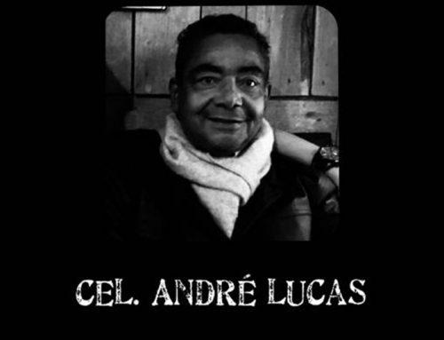 NOTA DE PESAR: comunicamos o falecimento do coronel da RR, André Lucas