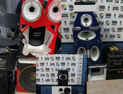 PM apreende dez aparelhos de som durante o feriado prolongado no Baixo São Francisco