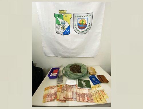 Após denúncia, PM apreende droga em residência do município de Canindé